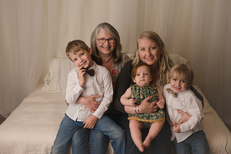 Greenville SC Studio Portraits Mothers Day