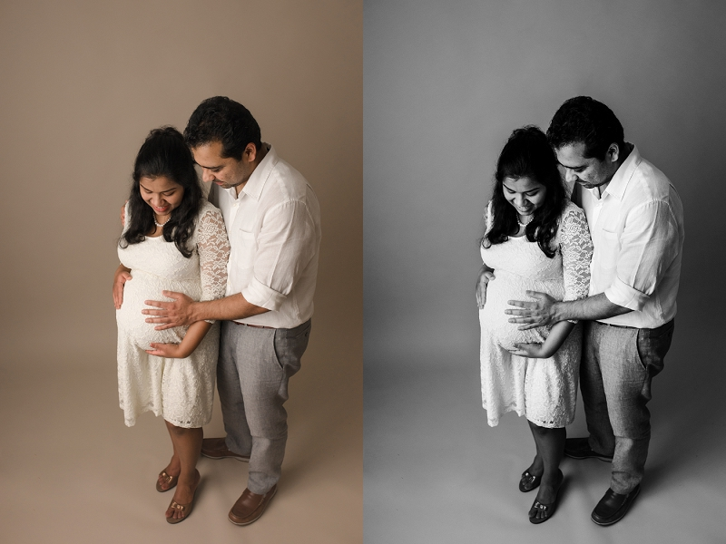 Studio Maternity Portraits Greenville SC