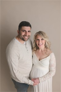 Timeless Greenville SC Studio Family Maternity Pictures