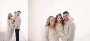 Timeless Greer SC Studio Family Maternity Pictures