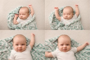 Classic Three Month Baby Pictures Greenville SC