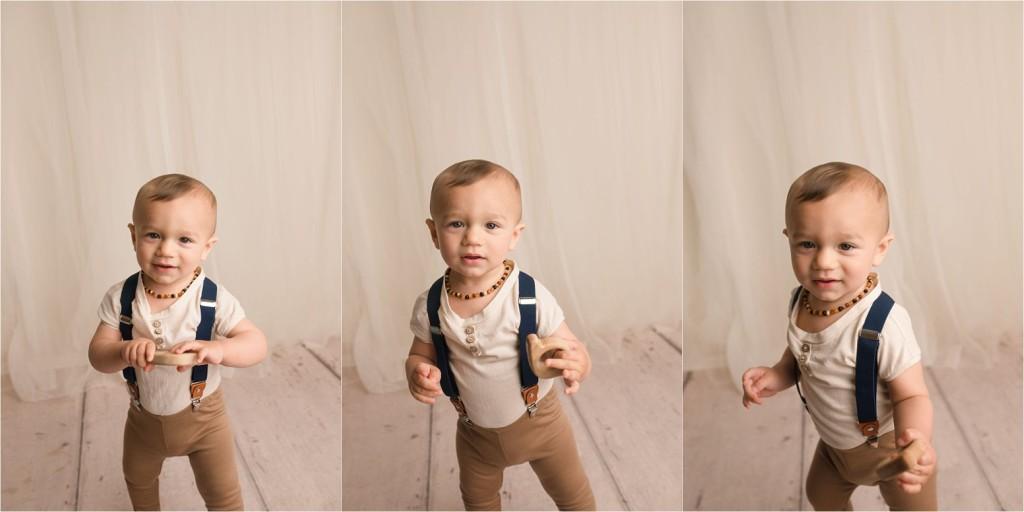 Timeless Fun Simple Boys Cake Smash Photos Greer SC