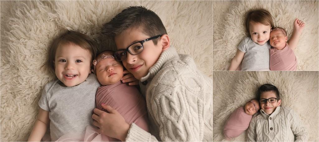 Sweet Timeless Natural Newborn Baby Girl Photographer Greenville SC