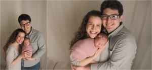 Sweet Timeless Natural Newborn Baby Girl Photographer Simpsonville SC