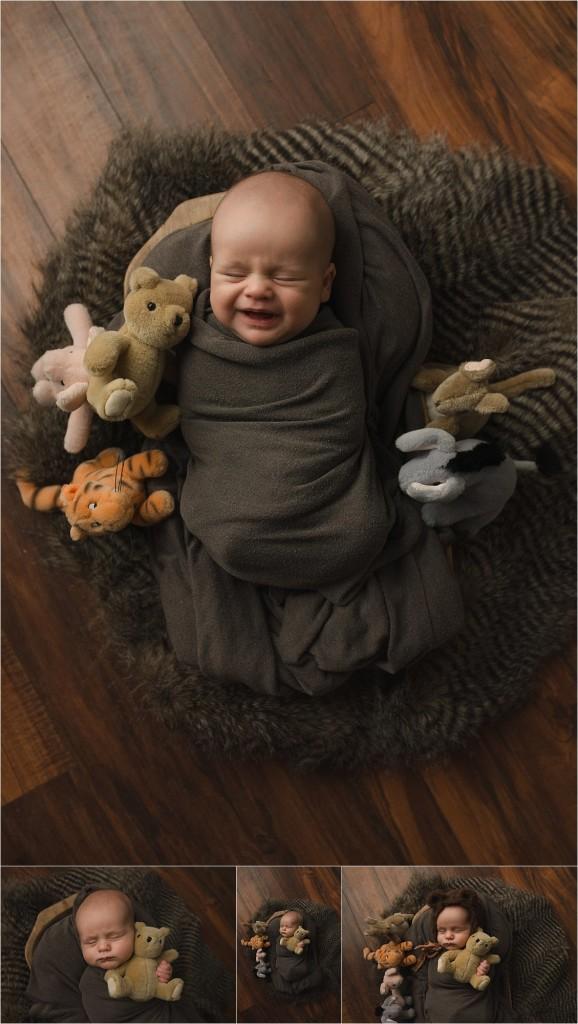 Winnie the Pooh Newborn Photos
