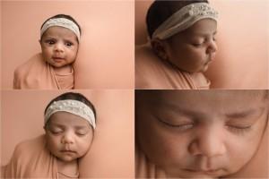 Natural Understated Organic Newborn Baby Girl Photos Greenville SC