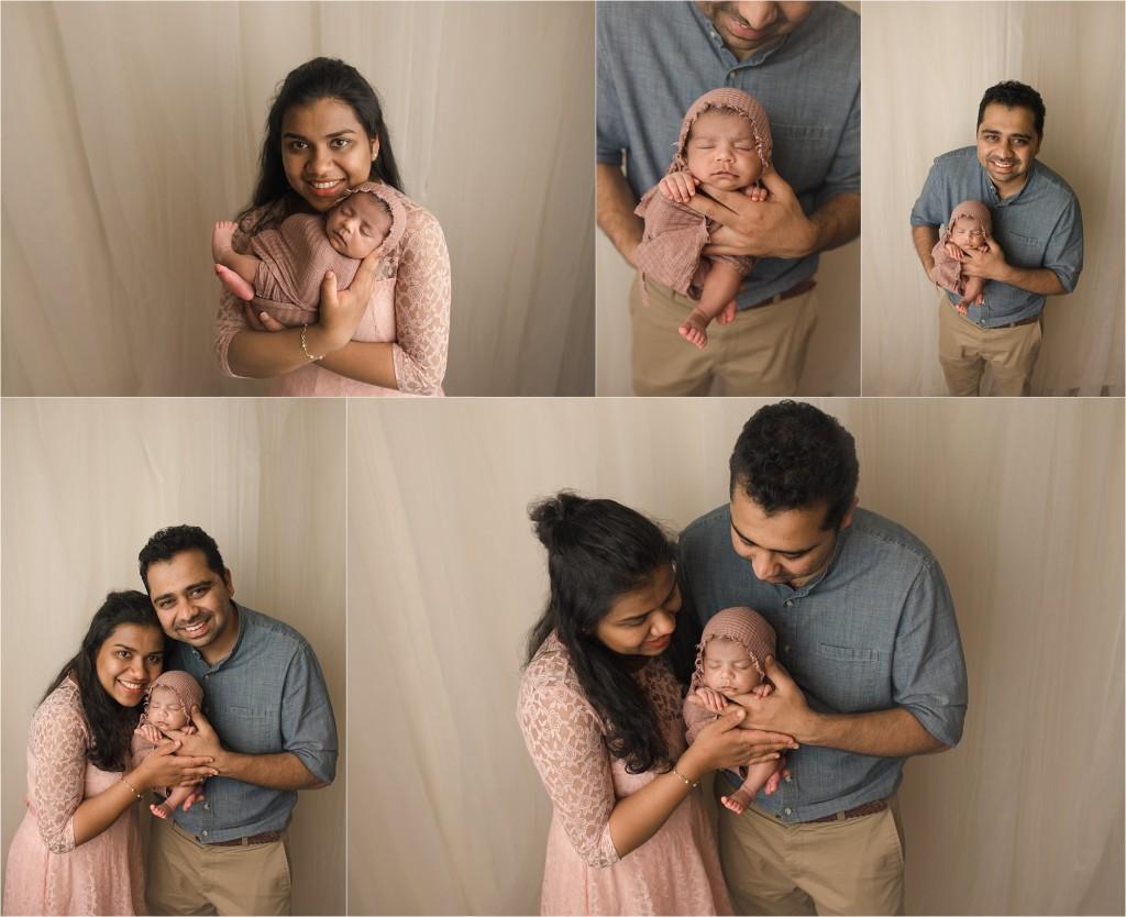 Natural Understated Organic Newborn Baby Girl Photos Spartanburg SC