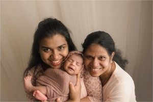 Natural Understated Organic Newborn Baby Girl Photos Anderson SC