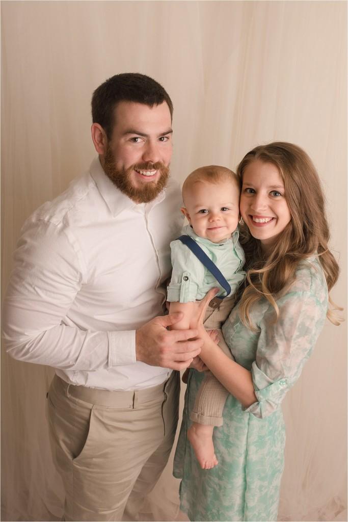 Natural Studio Baby Photographer Greenville SC