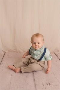 Natural Studio Baby Photographer Greer SC