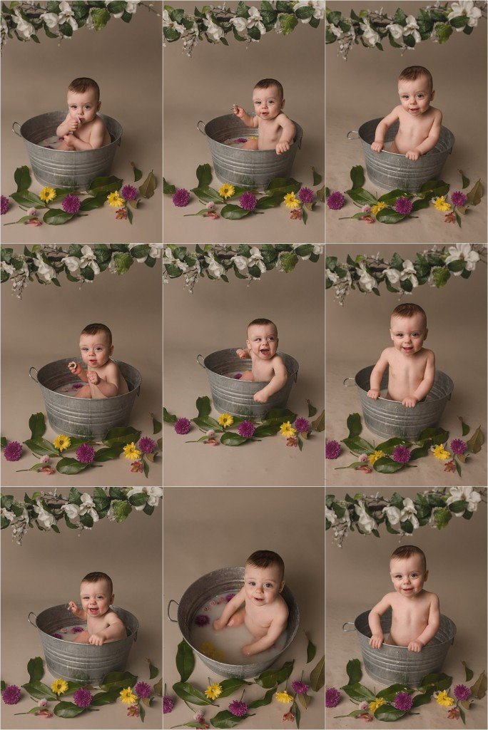 Greer SC Cake Smash Photographer One Year Old