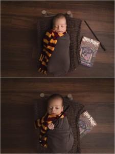 Harry Potter Newborn Pictures Greenville SC