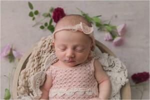 Simple Natural Emotive Simpsonville SC Newborn Photographer