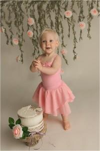 Boho Princess Cake Smash Photography Five Forks SC