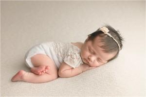 Simply Minimally Posed Newborn Photography Greer SC
