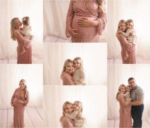 Greenville SC Studio Maternity Photographer