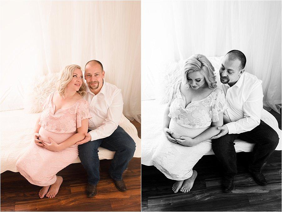 Romantic Airy Maternity Photography Spartanburg SC