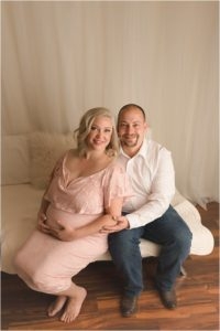 Romantic Airy Maternity Photography Hendersonville NC