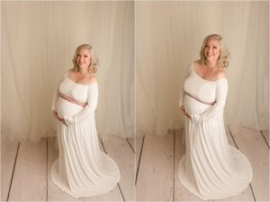 Romantic Airy Maternity Photography Travelers Rest SC