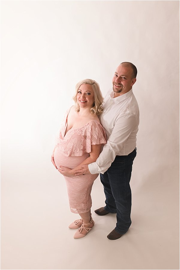 Romantic Airy Maternity Photography Simpsonville SC