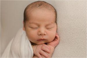 Clean Classic Newborn Photos Greer SC