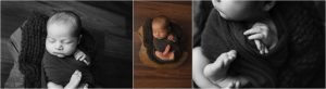Clean Classic Newborn Photos Greenville SC
