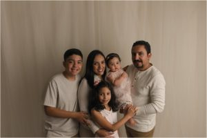 One Year Family Photos Simpsonville SC