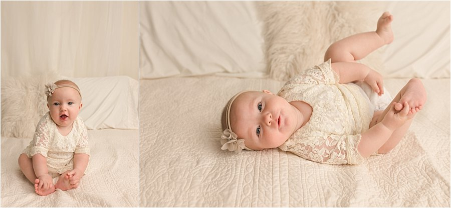 Six Month Baby Photos Greenville SC