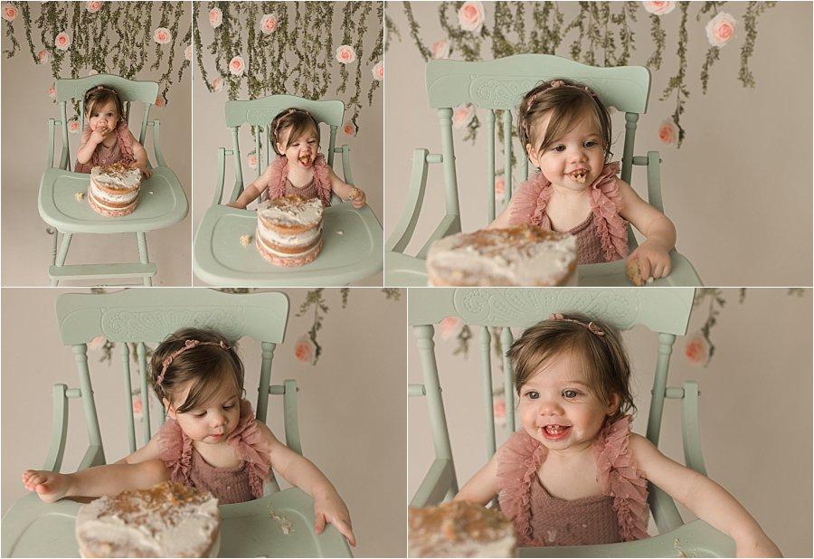 Cake Smash Photographer Greenville SC