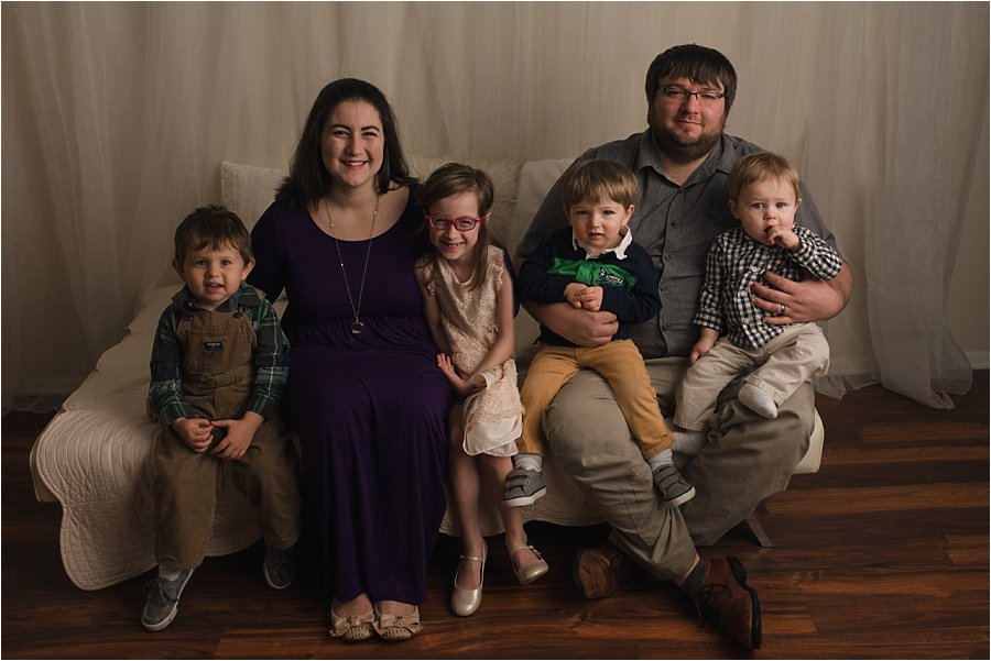 Timeless Studio Family Photography Greer SC