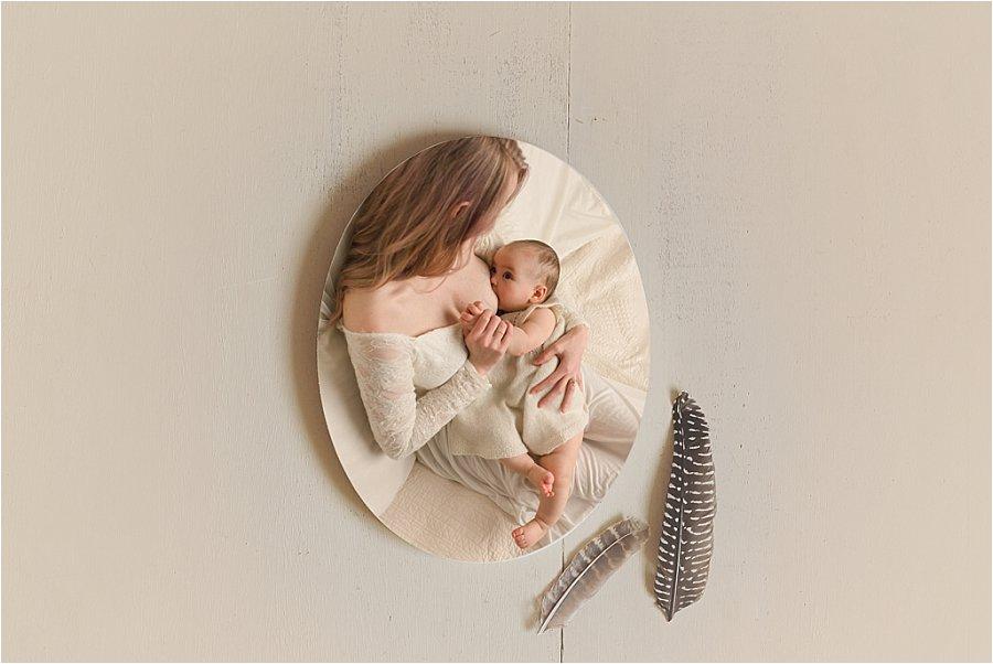 Greenville SC Studio Breastfeeding Photography