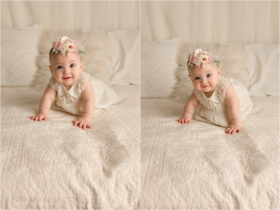 Six Month Baby Pictures Travelers Rest SC