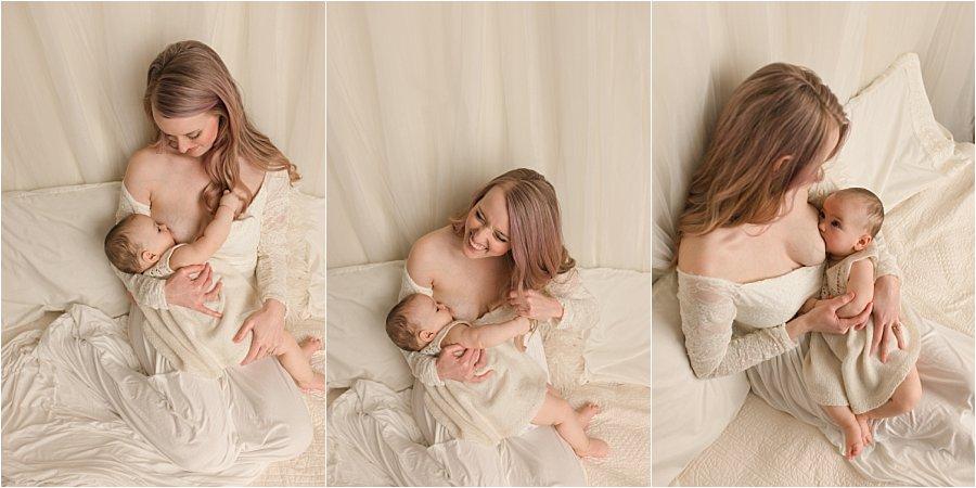 Simpsonville SC Studio Breastfeeding Photography