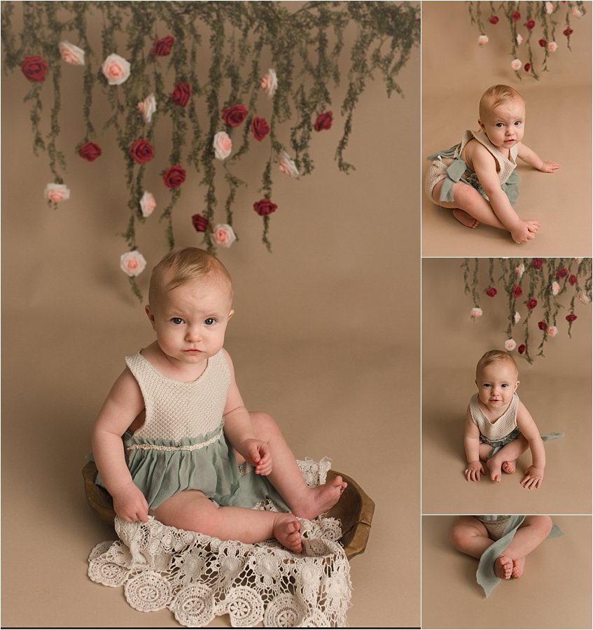 Classic Timeless One Year Old Photography Greenville SC