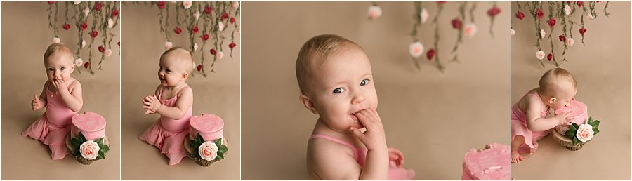 Classic Timeless One Year Old Photography Simpsonville SC