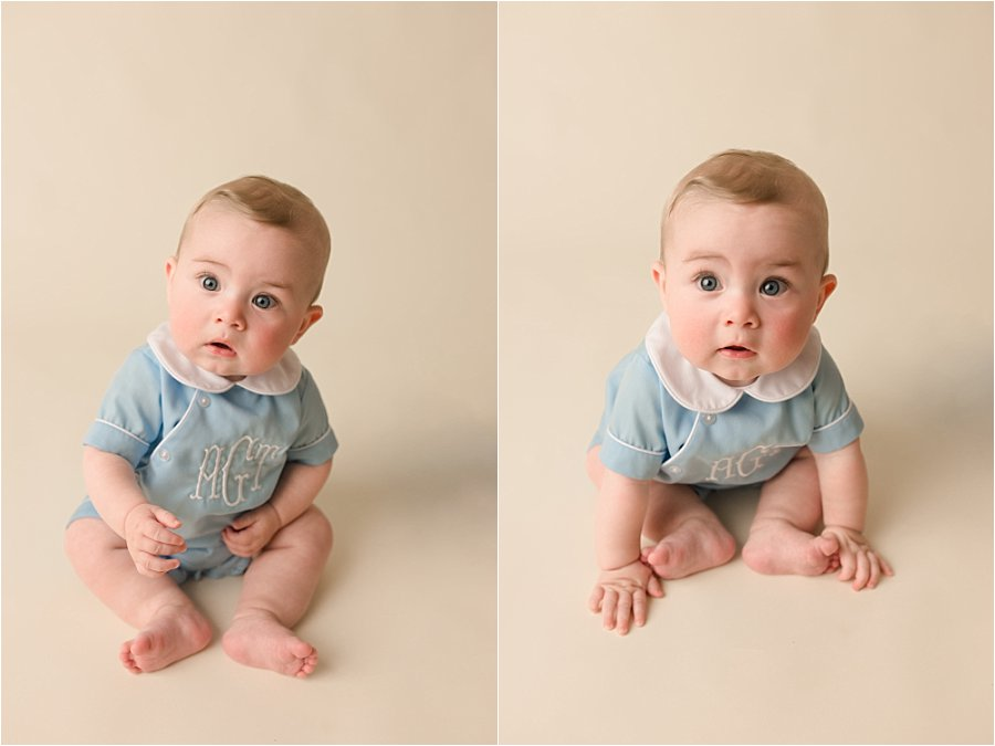 Studio Baby Plan Photography Greenville SC