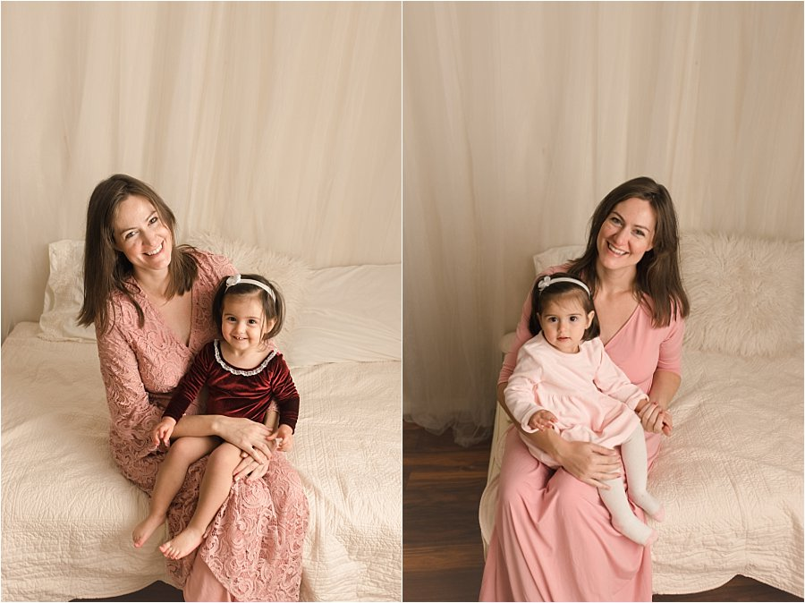 Greenville SC Mini Maternity Photography Session with big sibling