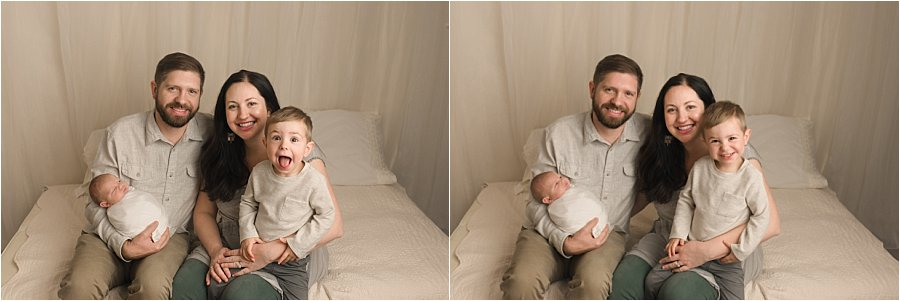 Greenville SC Newborn Photographer with Family