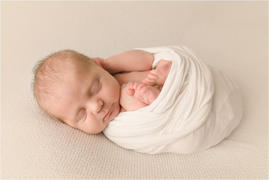 Simple Timeless Baby Newborn Pictures Greer SC