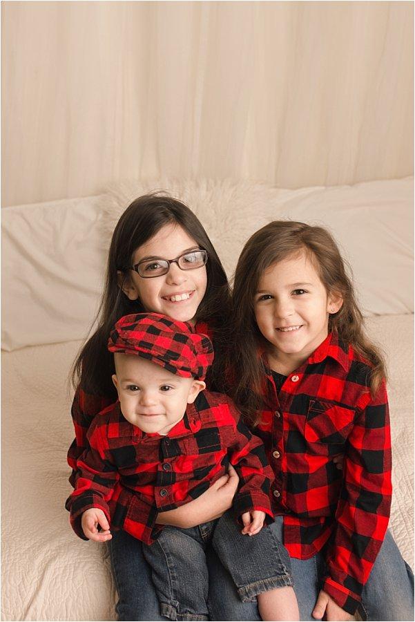 Sibling Holiday Card Photos Greer SC