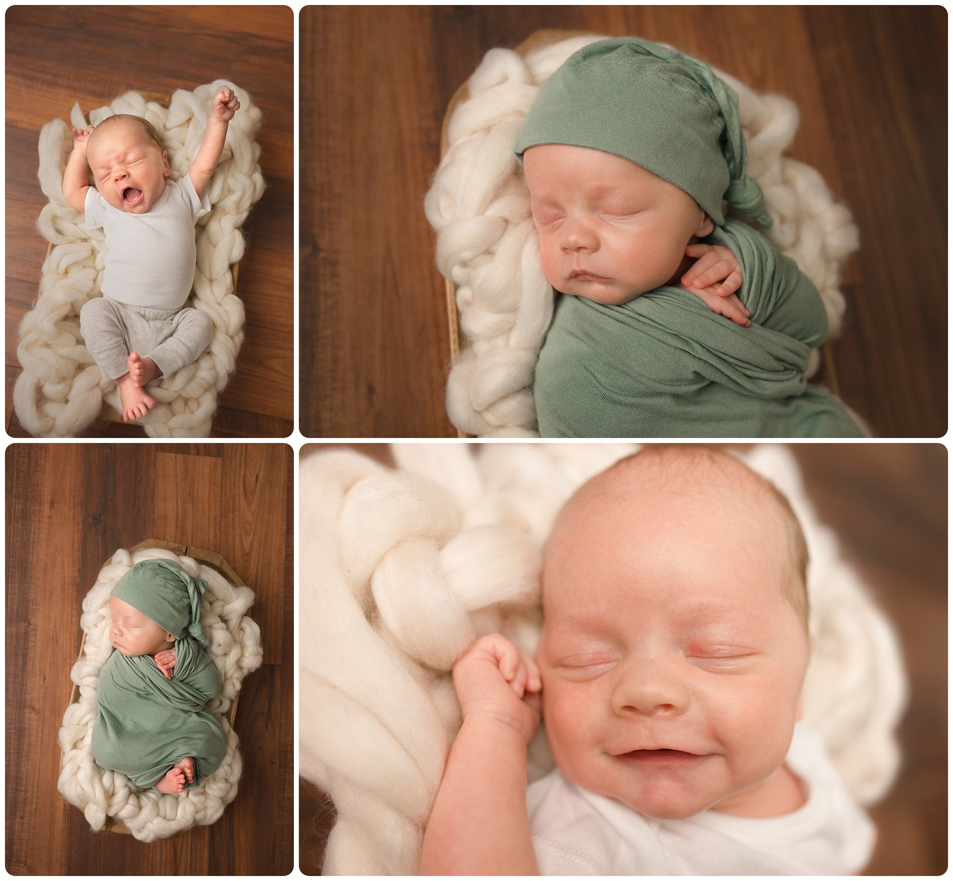 Spartanburg SC Photographer of Baby after Hospital stay