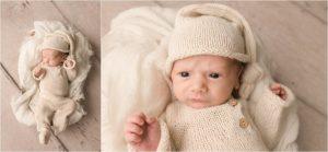 Awake Older Baby Newborn Photos Greer SC