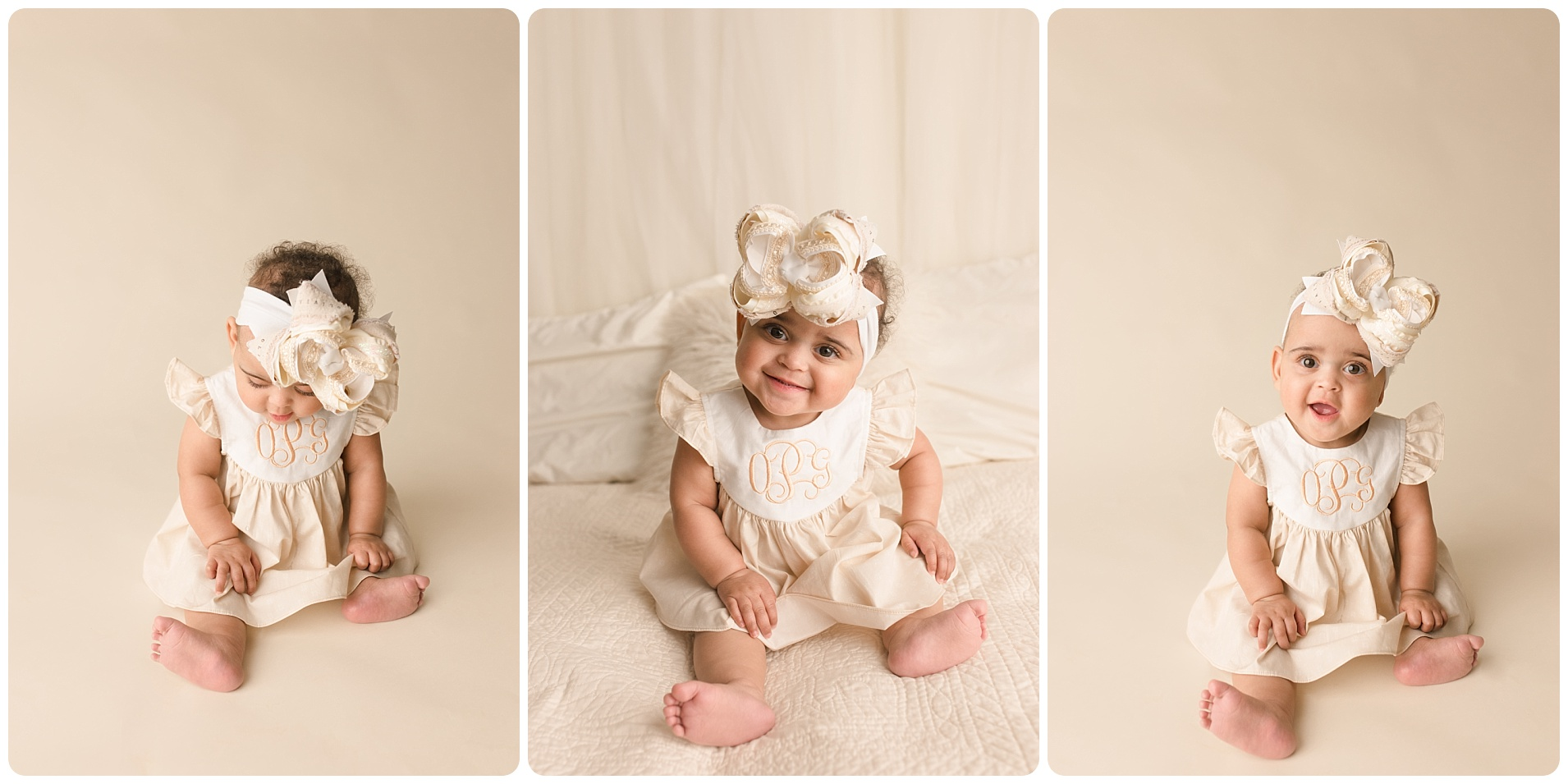 Winter Indoor Baby Photography for One Year olds Grenville SC