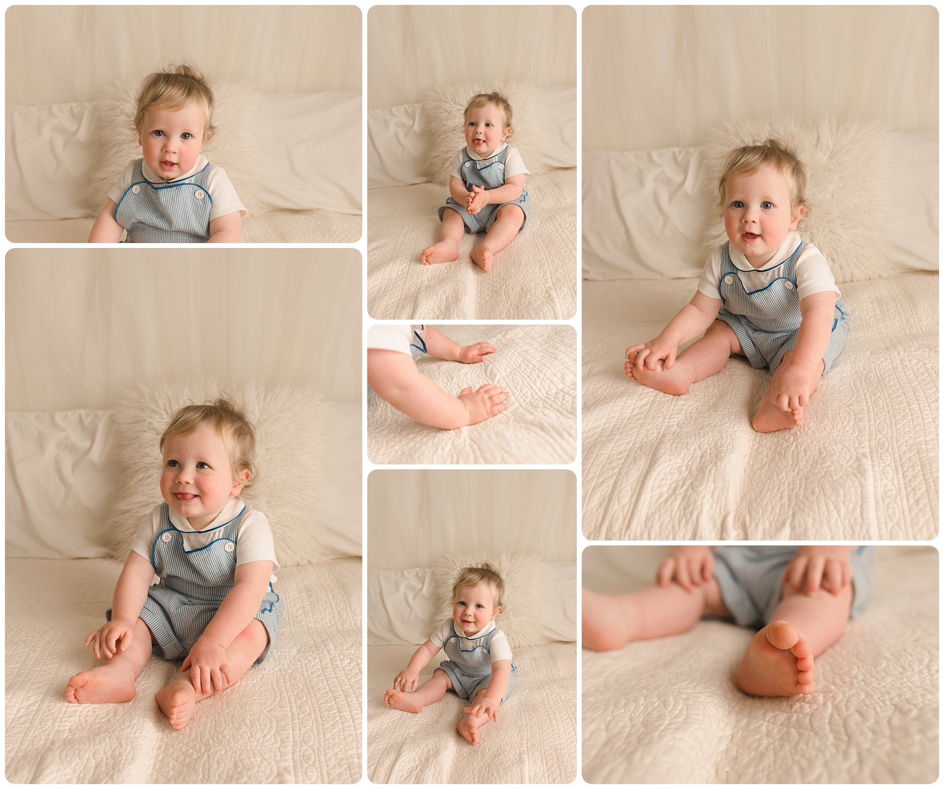 Simpsonville SC One Year Old Baby Pictures